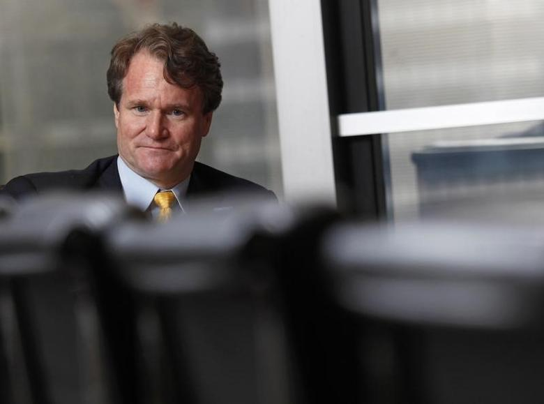 Bank of America Chief Executive Brian Moynihan looks on during an interview in Hong Kong March 8, 2013.  REUTERS/Bobby Yip