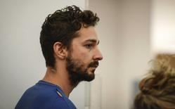 Shia LaBeouf is arraigned in Midtown Community Court in New York June 27, 2014. REUTERS/Anthony DelMundo/Pool