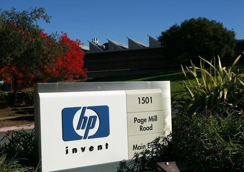 A view of the Hewlett Packard headquarters in Palo Alto, California November 23, 2009.  REUTERS/Robert Galbraith /Files