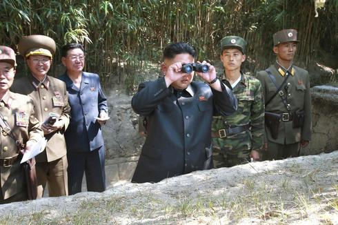 Live fire with Kim Jong Un