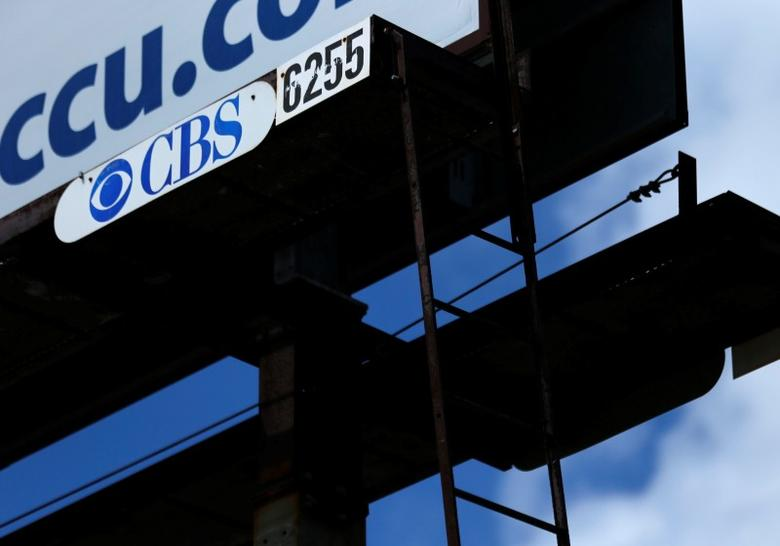 An outdoor billboard owned by the advertising company CBS Outdoors Americas is seen in Leucadia, California March 27, 2014.    REUTERS/Mike Blake