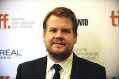 """Autor James Corden, do filma """"Apenas uma Chance"""", no tapete vermelho do Festival de Cinema de Toronto. 09/09/2014. REUTERS/Jon Blacker"""