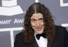 Weird Al Yankovic arrives at the 54th annual Grammy Awards in Los Angeles, California February 12, 2012. REUTERS/Danny Moloshok/Files