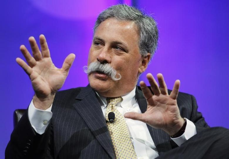 Chase Carey participates in a panel session at The Cable Show in Boston, Massachusetts May 23, 2012.   REUTERS/Brian Snyder