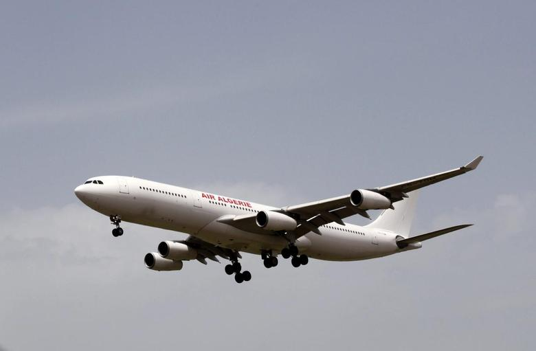 Wreckage of Air Algerie plane carrying 116 people...