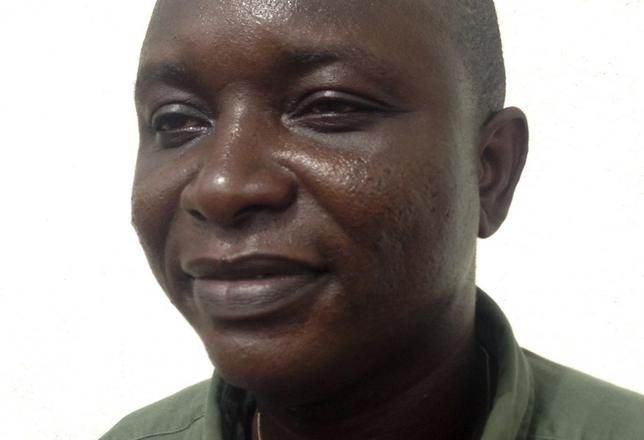 Sheik Umar Khan, head doctor fighting the deadly tropical virus Ebola in Sierra Leone, poses for a picture in Freetown, June 25, 2014. REUTERS/Umaru Fofana