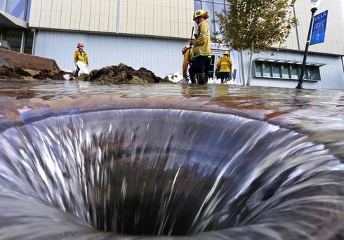 UCLA floods
