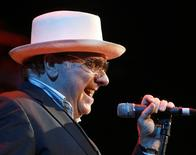 Irish musician Van Morrison performs during a concert at the 41st Montreux Jazz Festival July 18, 2007.  REUTERS/Denis Balibouse