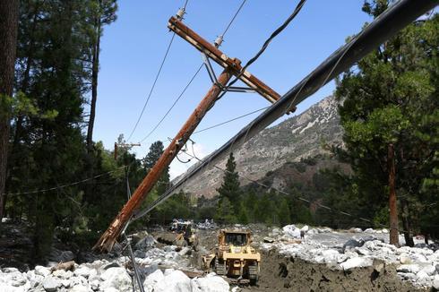 San Bernardino mudslides