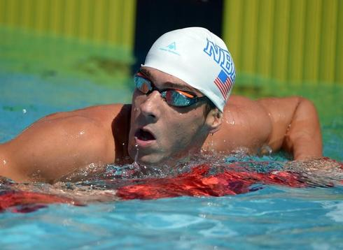 Phelps seventh in 100 m freestyle at U.S. nationals