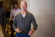 Lululemon Athletica Inc's founder Chip Wilson arrives for the company's annual general meeting in Vancouver June 11, 2014. REUTERS/Ben Nelms