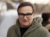 O ator e comediante Robin Williams chega a uma pré-estreia no Festival de Sundance, em Park City, Utah, nos Estados Unidos, em janeiro de 2009. 18/01/2009 REUTERS/Lucas Jackson