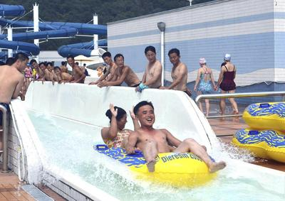 Water parks of Pyongyang