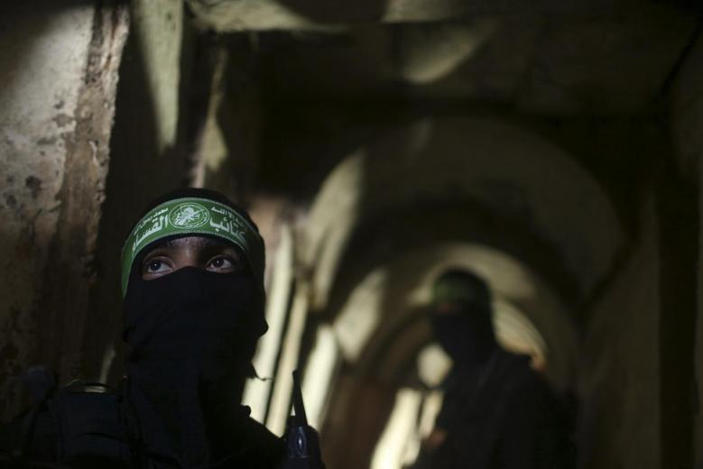 Exclusive: Hamas fighters show defiance in Gaza tunnel...