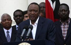 Kenya's President Uhuru Kenyatta. In file photo. REUTERS/Stringer