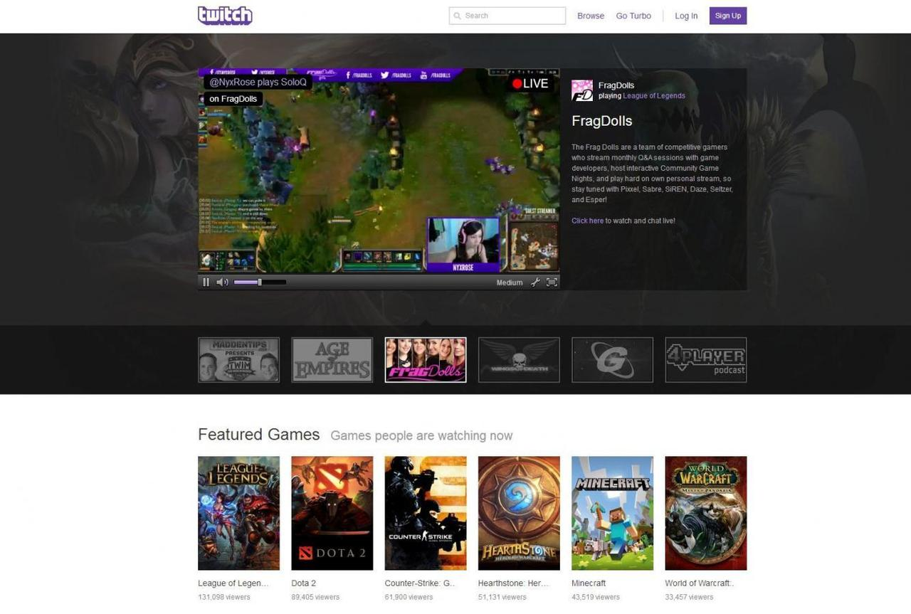 Amazon snaps up live video startup Twitch for $970 million