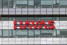 Havas a enregistré une croissance organique de ses revenus de 5,7% au premier semestre, dont une croissance de 7,9% pour le seul deuxième trimestre. /Photo d'archives/REUTERS/Benoît Tessier