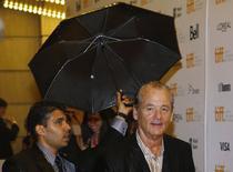 """Bill Murray chega para evento do filme """"St. Vincent"""" no Festival de Toronto na sexta-feira.  REUTERS/Mark Blinch"""