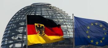 L'Allemagne est bien partie pour enregistrer cette année un excédent des comptes courants record, selon l'institut Ifo, une prévision susceptible d'inciter les partenaires du pays à presser une nouvelle fois Berlin d'en faire davantage pour stimuler la demande intérieure et l'investissement. /Photo d'archives/REUTERS/Thomas Peter
