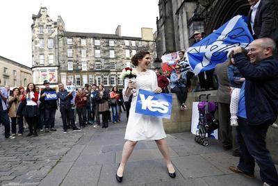 Independence fever in Scotland