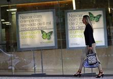 Les dirigeants de la banque portugaise Novo Banco, née le 3 août à la suite du plan de sauvetage gouvernemental de Banco Espirito Santo (BES), ont annoncé samedi leur démission, deux mois après leur désignation. /Photo prise le 26 août 2014/REUTERS/Hugo Correia