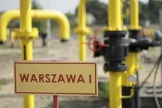 Газораспределительная станция в Польше 12 сентября 2014 года. Польша планирует создать центр газовой торговли для Центральной и Восточной Европы в качестве еще одного шага для снижения зависимости от российского газа. REUTERS/Wojciech Kardas/Agencja Gazeta