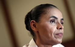 Candidata do PSB à Presidência Marina Silva concede entrevista à Reuters nesta quinta-feira.    REUTERS/Sergio Moraes