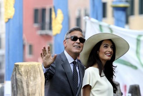 Clooney marries in Venice