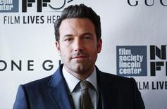 """Actor Ben Affleck attends the 52nd New York Film Festival opening night gala presentation of the movie """"Gone Girl"""" at Alice Tully Hall in New York September 26, 2014. REUTERS/Eduardo Munoz"""