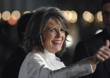 Atriz Diane Keaton em foto de arquivo, em Los Angeles. 09/01/2008 REUTERS/Phil McCarten