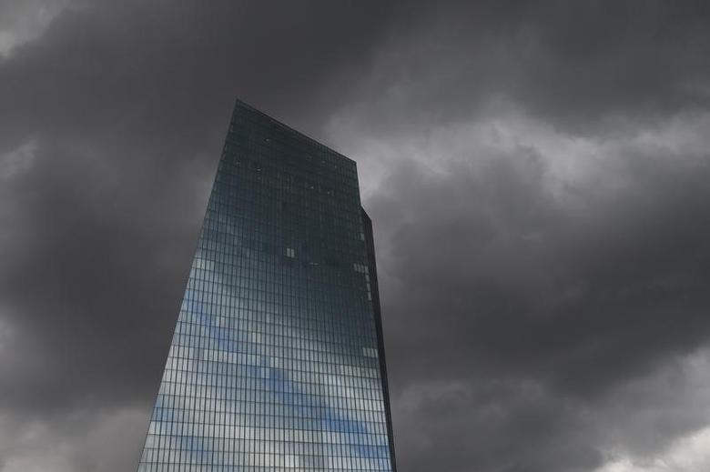 The new European Central bank (ECB) headquarters are pictured in Frankfurt, September 11, 2014.  REUTERS/Ralph Orlowski