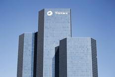 View of French oil giant Total  headquarters in the financial district of la Defense near Paris March 8, 2010. REUTERS/Charles Platiau