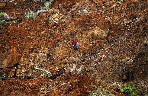 Landslide in Sri Lanka