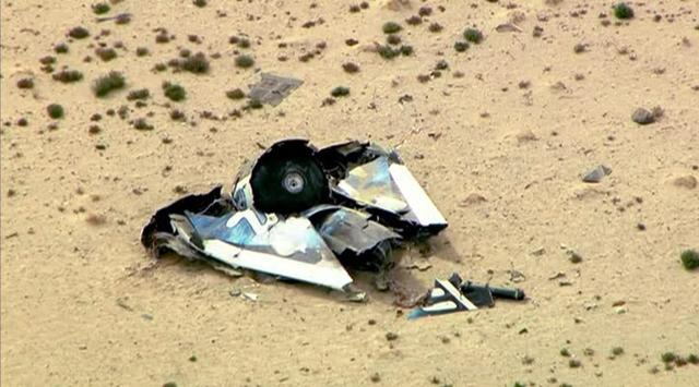 Test flight of Virgin Galactic spaceship ends in fatal crash