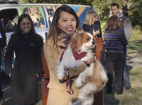 New York doctor with Ebola improves, nurse reunited with dog