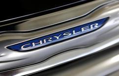 Chrysler Group, la branche américaine de Fiat Chrysler Automobiles (FCA), a réalisé un bénéfice de 611 millions de dollars (490 millions d'euros) au titre du troisième trimestre, en hausse de 32% sur un an. /Photo d'archives/REUTERS/Joe Skipper