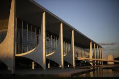 Vista do Palácio do Planalto, em Brasília. 28/04/2014 REUTERS/Ueslei Marcelino