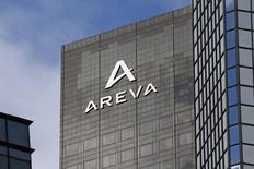 Штаб-квартира Areva под Парижем 21 октября 2014 года. Европейские фондовые рынки растут, но акции французского производителя ядерной энергии Areva резко упали из-за неопределенных финансовых перспектив. REUTERS/Charles Platiau