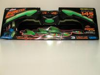 """The Air Storm Firetek Bow by Zing sells for $15.00-$24.97 at Walmart and Amazon.com. The light-up bow and arrow set, recommended for kids 8+, has the potential for eye injuries. The package includes these warnings: """"Do not aim at eyes or face. Do not aim or shoot at people or animals'' ... """"Not for play in complete darkness…."""" and instructions that arrows not be pulled back ''more than half strength''.       REUTERS/Courtesy W.A.T.C.H."""