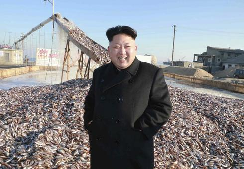 Kim Jong Un visits foodstuff factories