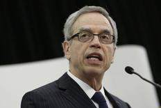 Canada's Finance Minister Joe Oliver delivers a speech Federation of Canadian Municipalities conference in Ottawa November 18, 2014. REUTERS/Chris Wattie