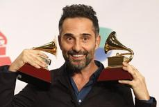Uruguaio Jorge Drexler no Grammy, em Las Vegas. 2011/2014 REUTERS/Steve Marcus