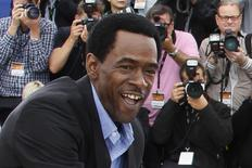 """Cast member Dwight Henry attends a photo call for the film """"Beasts of the Southern Wild """"at the 65th Cannes Film Festival, in this May 19, 2012 file photo.        REUTERS/Yves Herman/Files"""