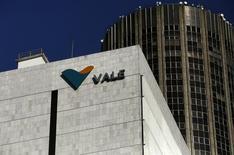 Центральный офис Vale SA в Рио-де-Жанейро 20 августа 2014 года. Бразильская Vale SA рассматривает возможность листинга части своего глобального, связанного с производством цветных металлов, бизнеса, так как компании нужны деньги на капзатраты в то время, как цены на железную руду обрушились. REUTERS/Pilar Olivares