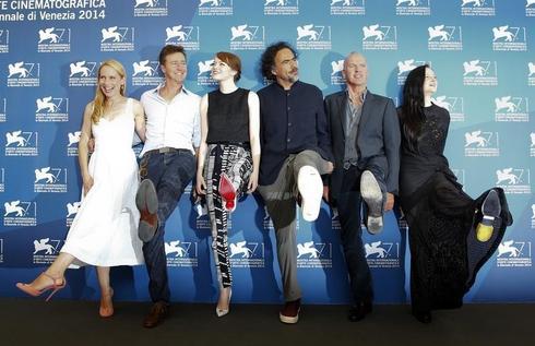 'Birdman' tests new heights with seven Golden Globe nods