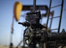 Станки-качалки на нефтяном месторождении в Калифорнии 29 апреля 2013 года. Международное энергетическое агентство (IEA) снизило прогноз роста мирового потребления нефти в 2015 году и предсказало дальнейшее падение цен на нефть. REUTERS/Lucy Nicholson