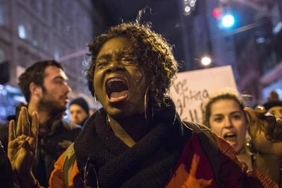 Marches against police shootings
