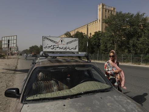 Behind the wheel in Kabul