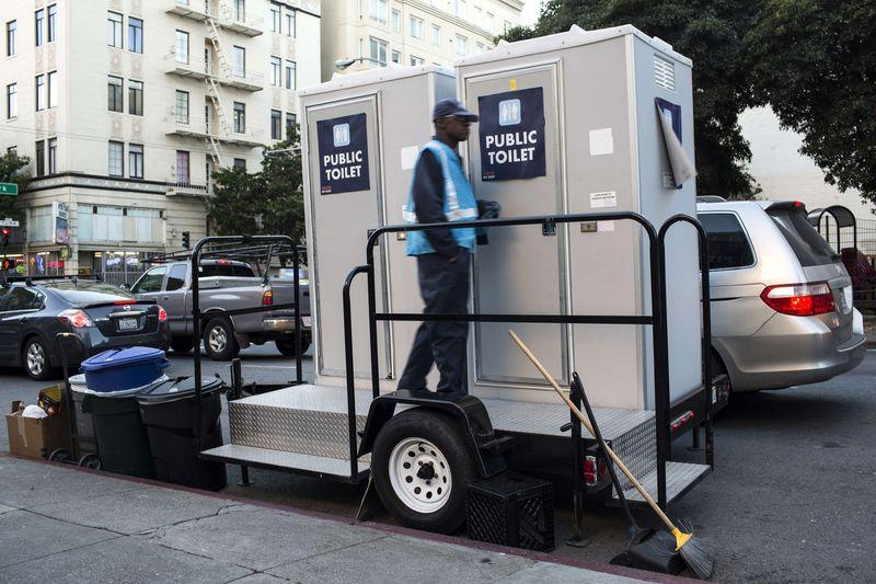 Human feces map finds San Franciscos homeless