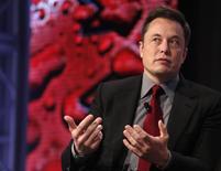 Tesla Motors CEO Elon Musk talks at the Automotive World News Congress at the Renaissance Center in Detroit, Michigan, January 13, 2015.   REUTERS/Rebecca Cook